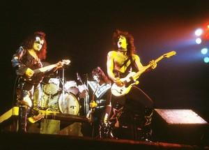 Paul and Gene ~Long Beach, California...January 17, 1975