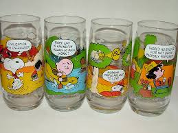 peanuts Drinking Glasses