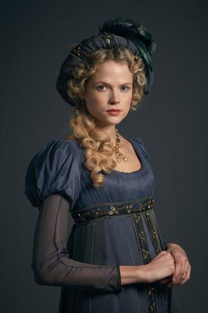 Poldark Season 5 Portrait - Caroline Enys
