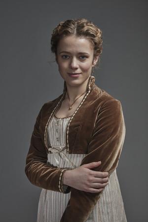 Poldark Season 5 Portrait - Cecily Hanson