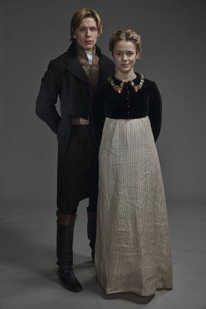Poldark Season 5 Portrait - Geoffrey Charles Poldark and Cecily Hanson