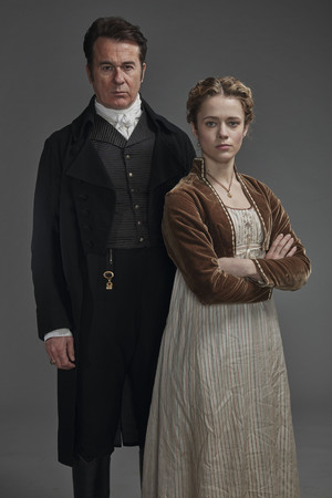 Poldark Season 5 Portrait - Ralph and Cecily Hanson