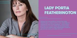 Polly Walker cast as Portia Featherington