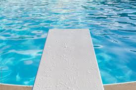 Pool With A Diving Board