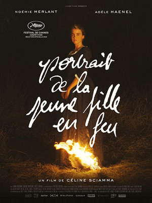 Portrait of a Lady on Fire / Portrait de la jeune fille en feu (2019) Poster