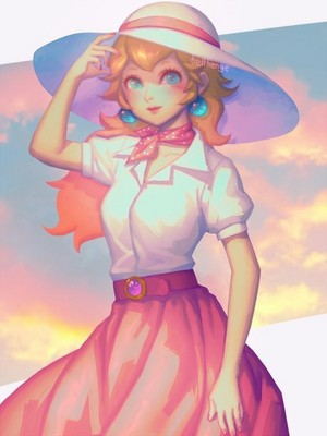 Princess pesca, peach