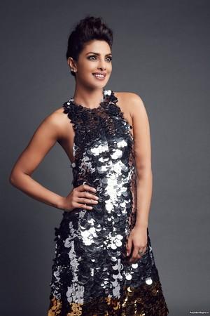 Priyanka ~ People's Choice Awards Portrait Studio (2016)