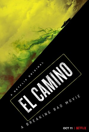 Promotional Poster for 'El Camino: A Breaking Bad Movie'