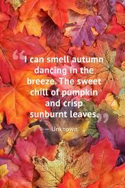 Quote Pertaining To Autumn
