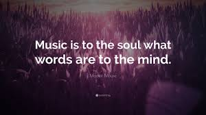 Quote Pertaining To Music