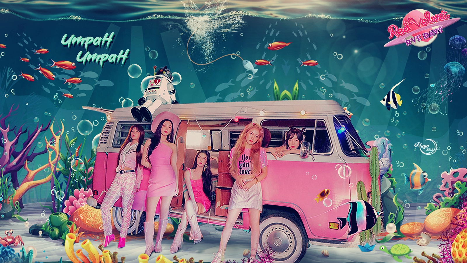 RED VELVET UMPAH UMPAH  #WALLPAPER