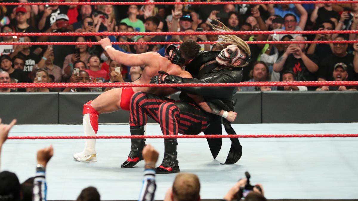 Raw 7/15/19 ~ Bray Wyatt attacks Finn Balor