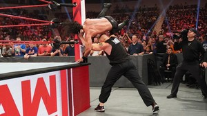 Raw 7/29/19 ~  Brock Lesnar assaults Seth Rollins
