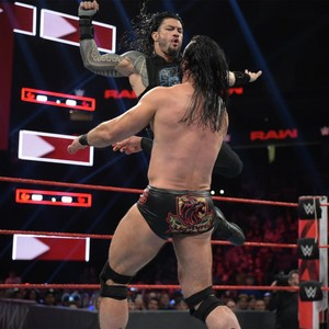 Raw 7/8/19 ~ Roman Reigns/Cedric Alexander vs Drew McIntyre/Shane McMahon