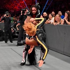 Raw 7/8/19 ~ Seth/Becky vs Zelina Vega/Andrade