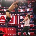 Raw 8/12/19 ~ Dolph Ziggler vs The Miz - wwe photo