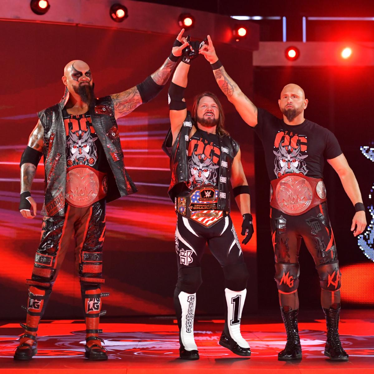 Raw 8/5/19 ~ The OC vs Ricochet/Big E/Xavier Woods
