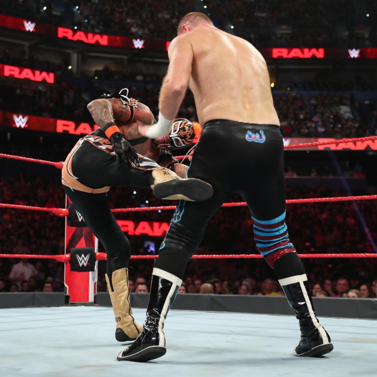 Raw Reunion 7/22/19 ~ Rey Mysterio vs Sami Zayn