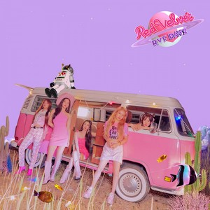 Red Velvet releases dreamy kulay-rosas teaser larawan for 'The ReVe Festival araw 2'