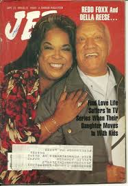 Redd Fox And Della Reese On The Cover Of Jet
