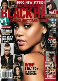Rhianns On The Cover Of Black Hair