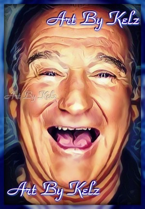 Robin Williams digital art