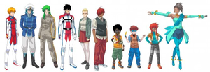 Robotech Remix characters