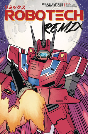 "Robotech Remix issue 02 : Cover ""A"""