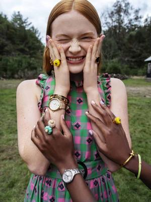 Sadie Sink - Kate Spade Photoshoot - Spring 2019