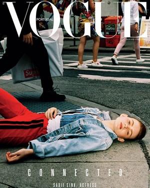 Sadie Sink - Vogue Portugal Cover - 2019