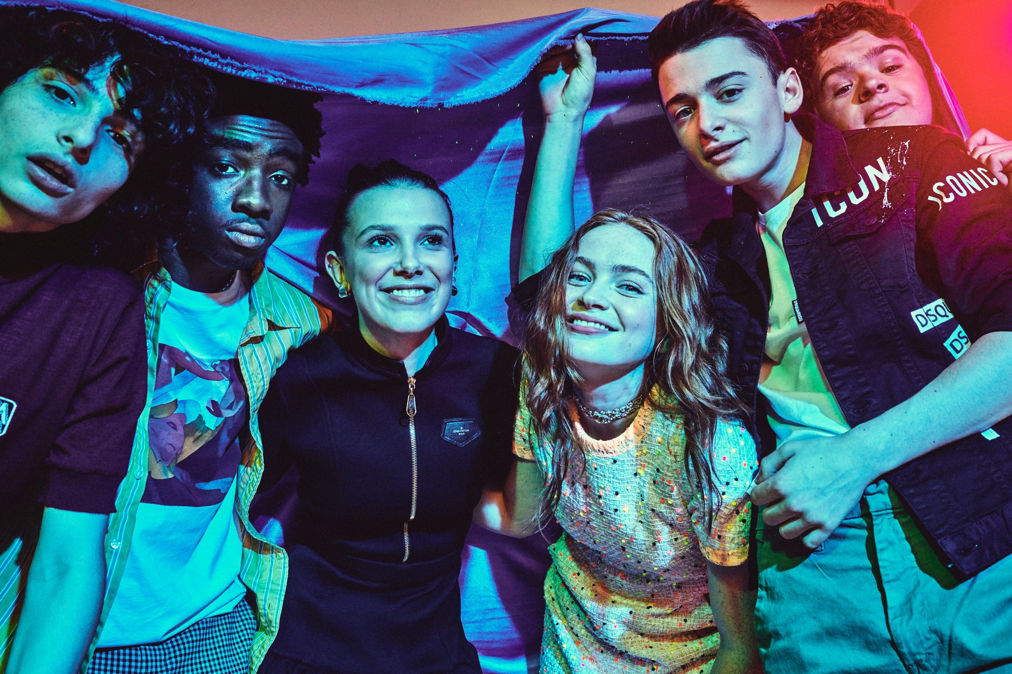 Sadie Sink and the Stranger Things cast - New York Times Photoshoot - 2019