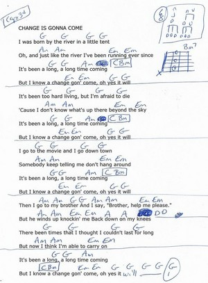 Sam Cooke lyrics