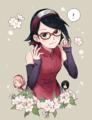 Sarada - anime fan art