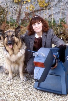 Sarah Jane Smith and K9