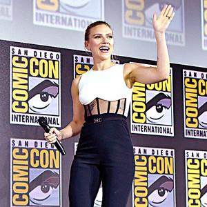 Scarlett Johansson at San Diego Comic Con, 2019