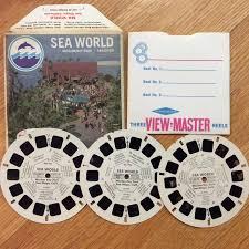 Sea World View Master Discs