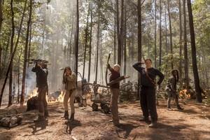 Season 10 Still ~ Daryl, Carol, Dianne and Michonne