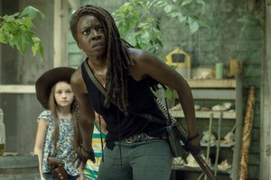 Season 10 Still ~ Judith and Michonne