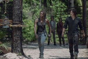 Season 10 Still ~ Michonne and Daryl