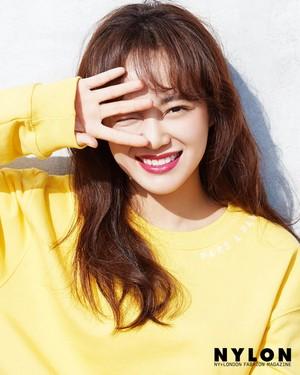 Sejeong for Nylon x Lancome (2019)