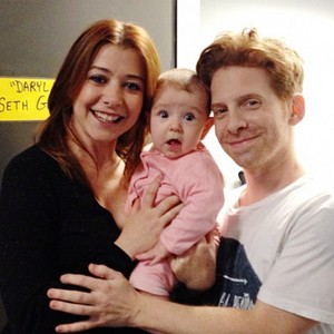 Seth Green and Alyson
