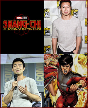 Shang-Chi and the Legend of the Ten Rings (Simu Liu) -2019 Marvel Comic Con