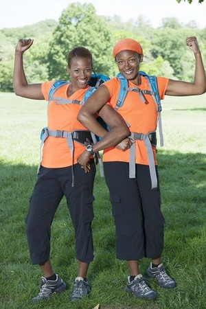"""Shelley and Enicia """"Nici"""" Porter (The Amazing Race 25)"""