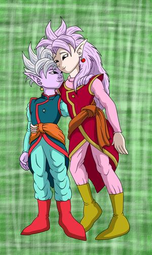 Shin and Nishi Kaioshin