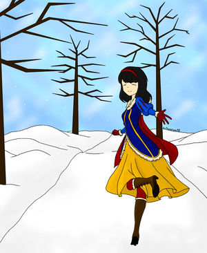 Snow White Winter Аниме