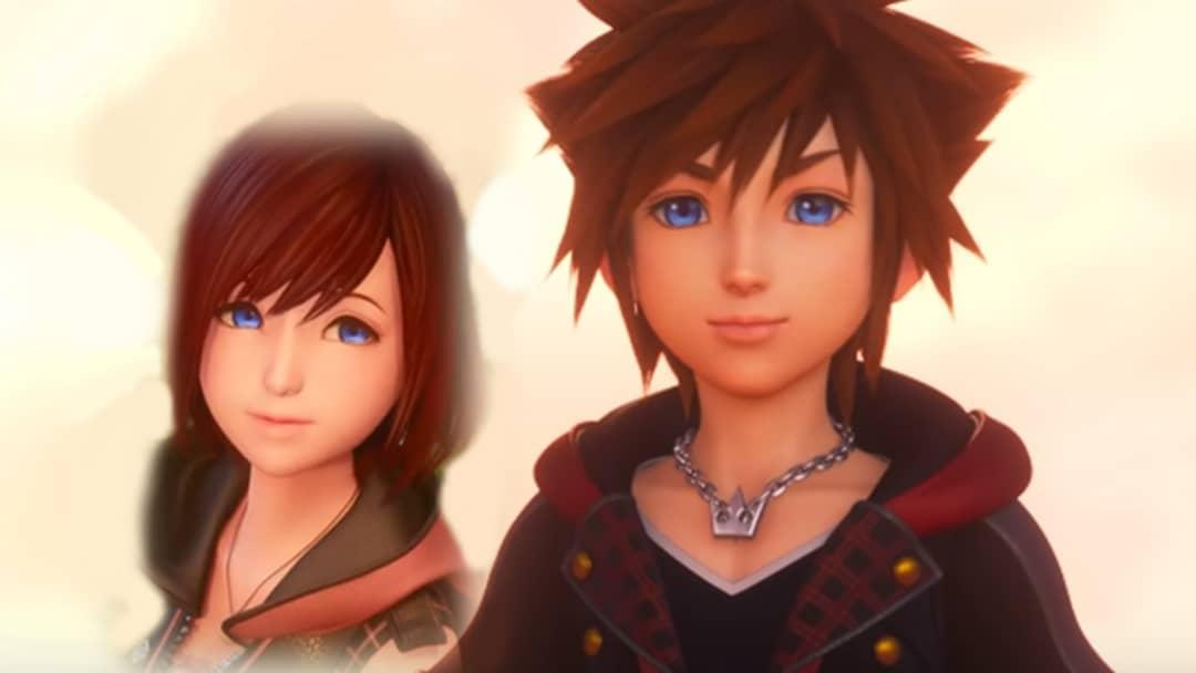 Sora and Kairi Kingdom Hearts 3