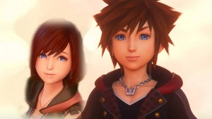 Sora and Kairi Kingdom Hearts 3