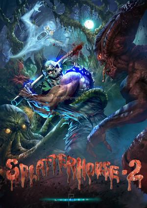 Splatterhouse 2 (Poster)