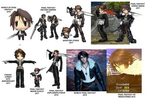 Squall Leonhart EVOLUTION