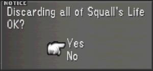 Squall Leonhart LIFE AGAIN